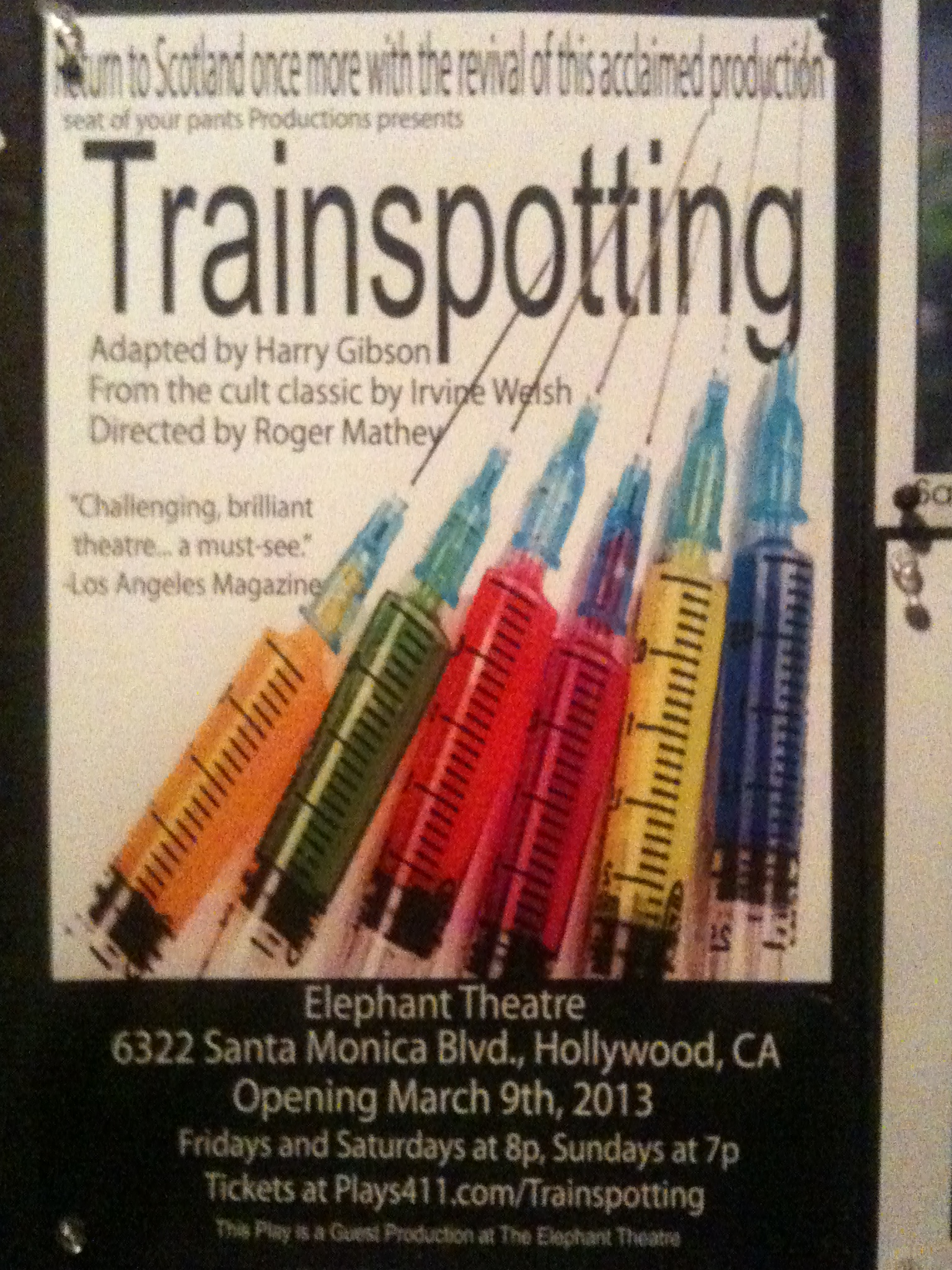 Trainspotting essay